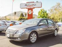 Options:  2006 Toyota Avalon Xl|Carfax One-Owner. Clean