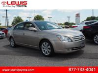 Options:  2006 Toyota Avalon Xls|Xls 4Dr Sedan|3.5L|6