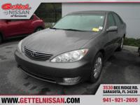 Options:  2006 Toyota Camry Le|Gray|**One Owner** Clean