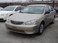 *This 2006 Toyota  Camry LE has a sharp Desert Sand