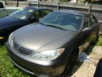 This is 2006 Toyota Camry LE Parts Car,No Engine 4 Cyl.