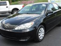 Clean Car Fax on this 2006 Toyota Camry LE Automatic.