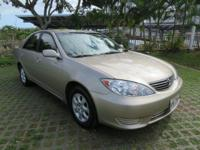 Gold 2006 Toyota Camry LE FWD 5-Speed Automatic with