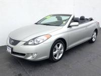 2006 Toyota Camry Solara Convertible SE V6 Our Location