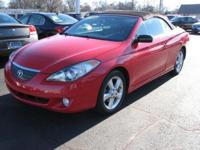 This 2006 Toyota Camry Solara convertible comes in SLE