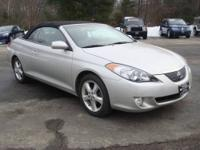 Only 1 previous owner on this 2006 Toyota Camry Solara