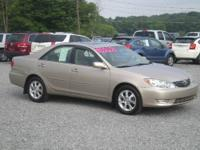 06 TOYOTA CAMRY XLE 4CYL 4SPEED AUTO MOONROOF POWER