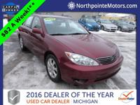 Options:  2006 Toyota Camry Xle|Red|We Finance!
