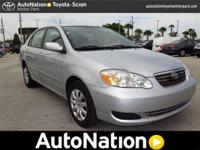 2006 Toyota Corolla Our Location is: AutoNation Toyota