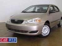 ***WOW***2006 Toyota Corolla CE with only