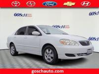 This outstanding example of a 2006 Toyota Corolla LE is
