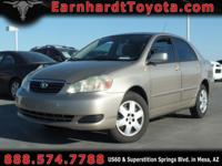 We are happy to offer you this 2007 Toyota Corolla LE