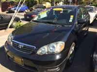 Options:  2006 Toyota Corolla S 4Dr Sedan