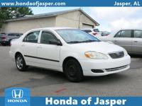 Options:  2006 Toyota Corolla 4Dr Sdn|Front Wheel