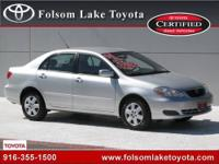 Folsom Lake Toyota presents this CARFAX 1 Owner 2006