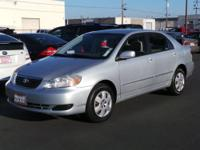 NEW ARRIVAL! This 2006 Toyota Corolla 4dr Sdn LE Auto