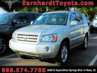 We are excited to offer you this nice 2006 Toyota