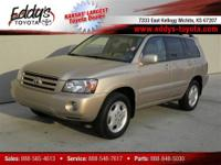 2006 Toyota Highlander V6 4WD Vehicle Options 4x4 New