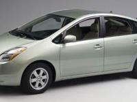 2006 Toyota Prius Seaside Pearl Odometer is 40540 miles