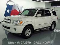 2006 Toyota Sequoia 4.7L V8 Engine,Leather interior,3rd