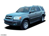 2006 Blue Toyota Sequoia Limited USB Charging Port,