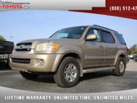 2006 Toyota Sequoia Limited V8, *** FLORIDA OWNED