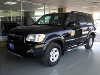 Options Included: N/A2006 Toyota Sequoia SR5 - ONE