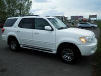 This versitile 2006 Sequoia 4DR 4WD SR5 AT with its