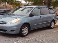 With Full Warranty 2006 TOYOTA SIENNA CE BLUE 3.3L Auto
