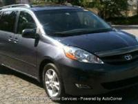 Fully Inspected 2006 TOYOTA SIENNA XLE BLUE 3.3L