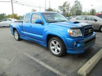 Very sharp one owner 2006 Toyota Tacoma X-Runner