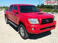 Red 2006 Toyota Tacoma PreRunner RWD 5-Speed Automatic