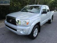 CARFAX 1-Owner. EPA 21 MPG Hwy/17 MPG City! Tacoma