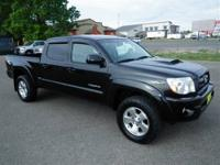 New Inventory* This all-purpose Tacoma with its grippy