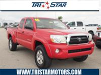This 2006 Toyota Tacoma SR5 TRD features a braking