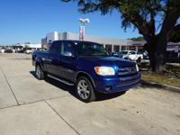 CARFAX One-Owner. Clean CARFAX. Blue 2006 Toyota Tundra