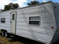 30 ft. bumber pull trailer, great for hunting camp,