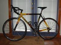 2006 Trek Madone 5.2 with 56cm framework. The elements