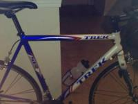 2006 TREK SL 1200 RED, WHITE AND BLUE. IMMACULATE,