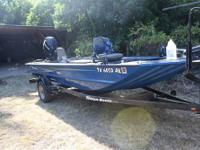 2006 Triton 1653 SS fishing boat with 2007 Mercury 4