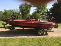 TR165 with 90hp Mercury 16.5 ft 90hp Mercury w