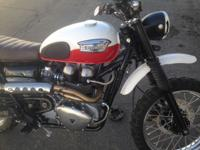 Triumph Scrambler title in hand bike is in really good