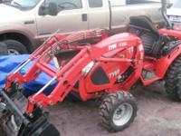 2006 TYM COMPACT TRACTOR, 4X4 HYDROSTATIC 2 SPEED,DIFF