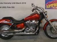 2006 used Honda Shadow Spirit 750 motorcycle for