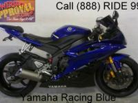 2006 used Yamaha R6 crotch rocket for sale! Super cool
