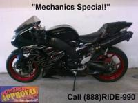 2006 Used ZX10R Sport Bike - For sale with Dual