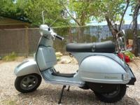 Selling garage kept 2006 Vespa PX 200. $3000 OBO.