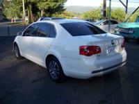 Options Included: N/A2006 VW Jetta TDI Sedan, White