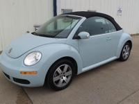 Convertible!! black leather interior, heated seats, MP3