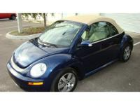 2007 Volkswagen New Beetle Convertible Conv Triple White